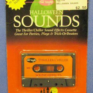 Halloween Sounds Cassette Tape