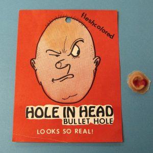Hole in Head Bullet Hole