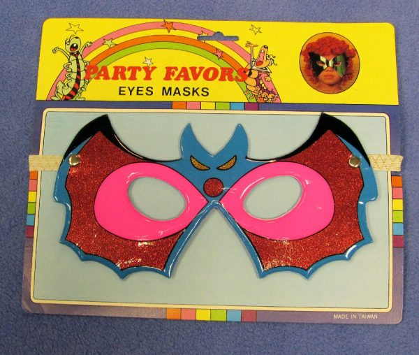 Party Favor Eye Mask - Bat