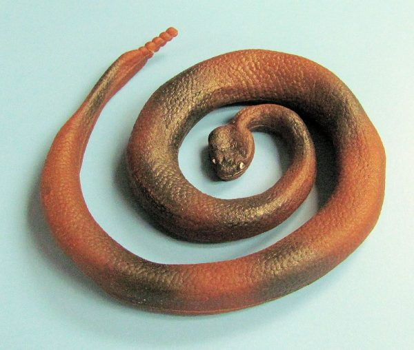Rubber Snake - Brown and Black