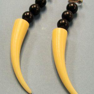 Saber Tooth Earrings