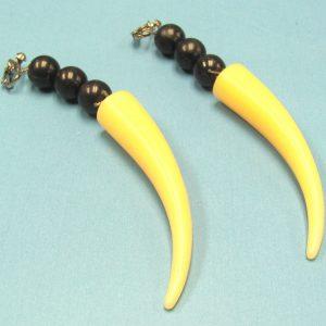 Sabre Tooth Earrings