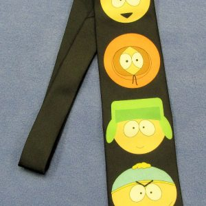 South Park Tie - Big Heads