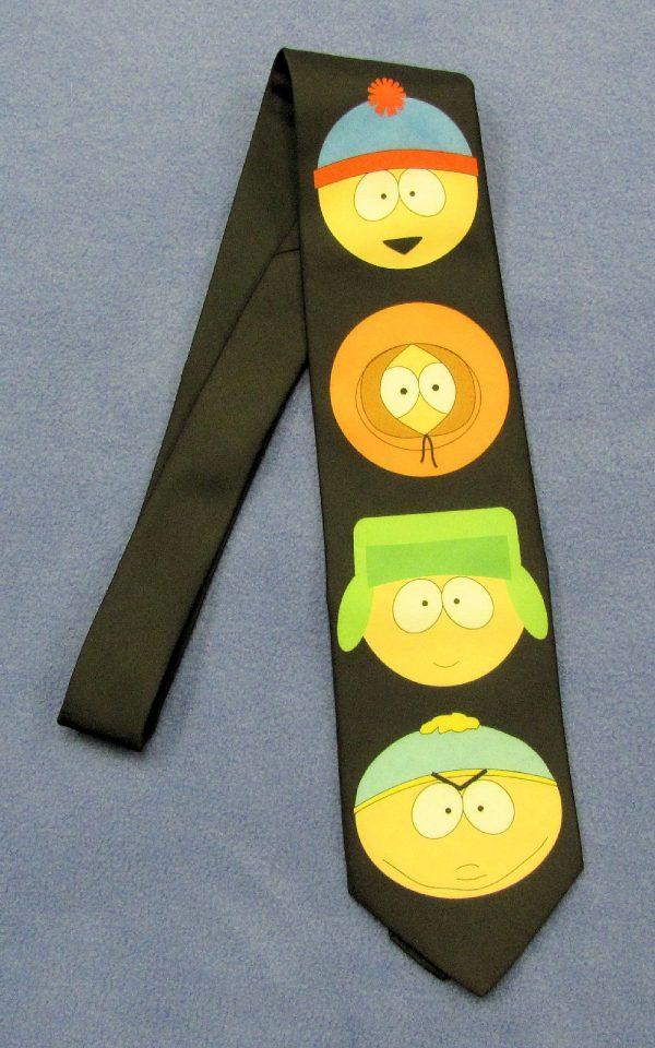 South Park Tie - Big Heads