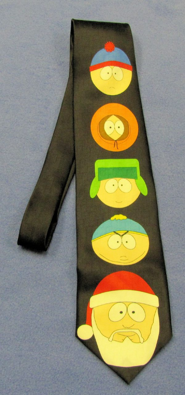 South Park Tie - Yule Tied