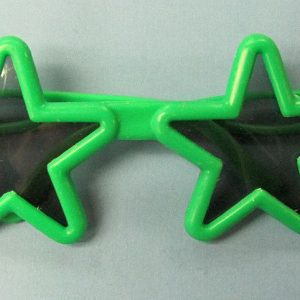 Star Glasses - Green