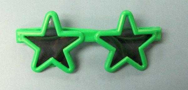Star Glasses - Green