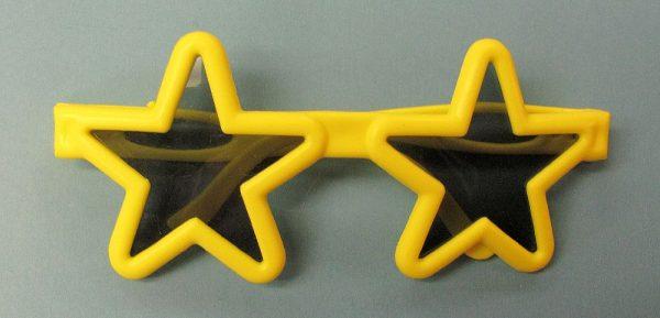 Star Glasses - Yellow