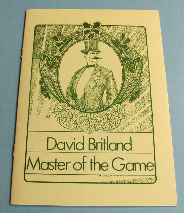Master of The Game (David Britland)