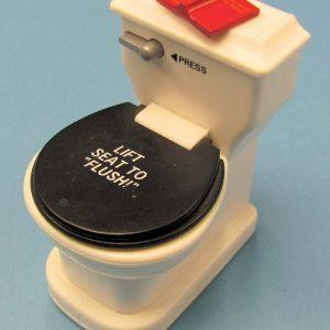 Mini Flushing Toilet Magnet Novelty