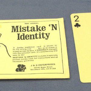 Mistake 'N Identity