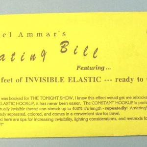 Ammar's Floating Bill