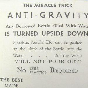 Anti-Gravity (Vintage)