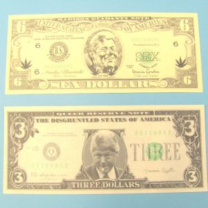 Bill Clinton Comedy Bill Set of 2