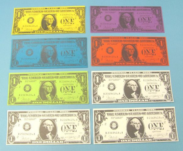 Color Changing Banknotes
