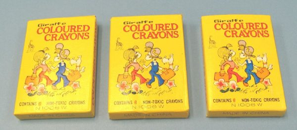 Crayons (Lot of 3 Boxes)