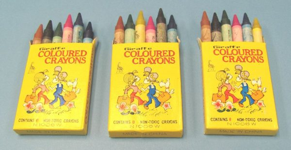 Crayons (Lot of 3 Boxes)-2