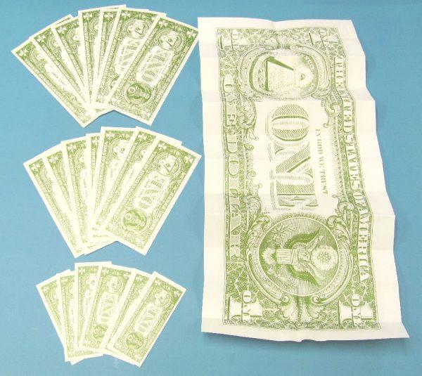Diminishing Banknotes