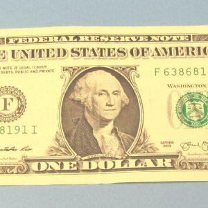 Improved Floating Dollar Bill