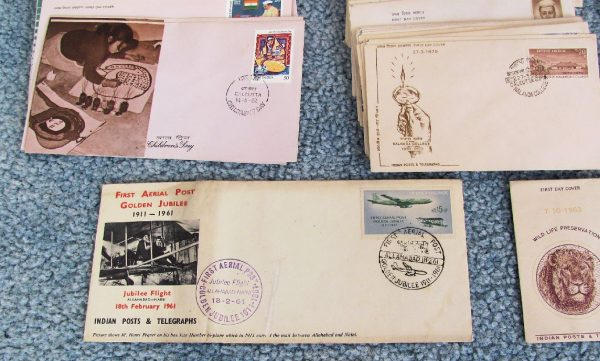 India First Day Covers Lot-6