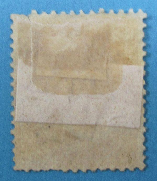 Italy Stamp - Scott 27 - Back Side
