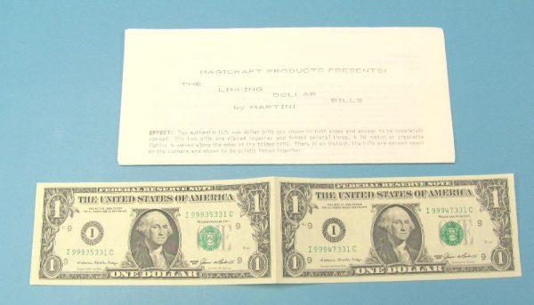 Linking Dollar Bills