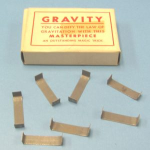 Lot of 7 Vintage Gravity Gimmicks With Box