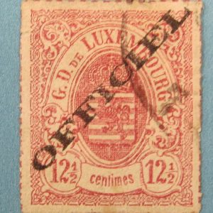 Luxembourg Official Stamp - Scott 04 - Used
