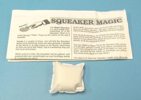 Sponge Pillow Squeaker