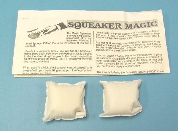 Sponge Pillow Squeaker (Pair)