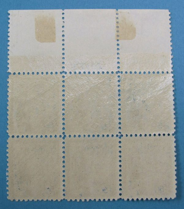United States Stamp - Scott 734 - Plate Block of 6 - Stamps Never Hinged - Selvage Hinged Back Side