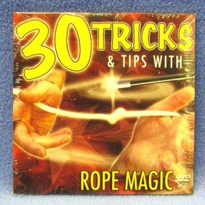 30 Tricks and Tips With Rope Magic DVD