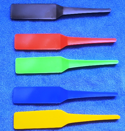 Blank Colored Tricky Paddles (Set of 5)