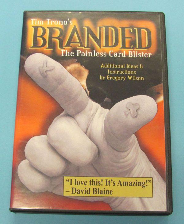 Branded The Painless Card Blister