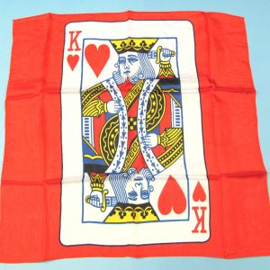 Card Silk Set (King of Hearts)-1