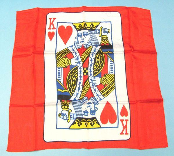 Card Silk Set (King of Hearts)-1