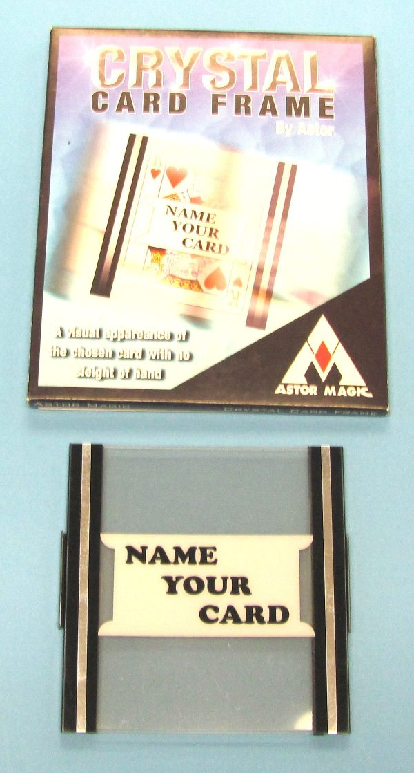 Crystal Card Frame (Astor Magic)