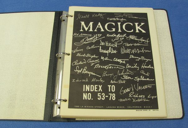 Magick Periodicals in 3-Ring Binder (Numbers 53 to 78)-2