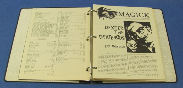 Magick Periodicals in 3-Ring Binder (Numbers 53 to 78)