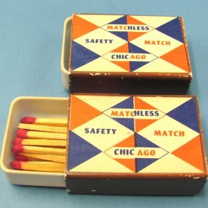 Matchless Matchboxes (Pre-Owned)