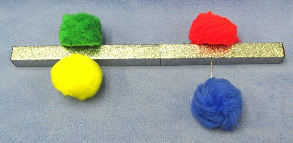 Pom Pom Stick (Square Pole)