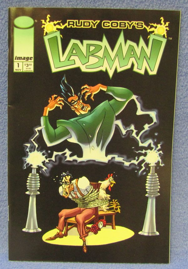 Rudy Coby's Labman Comic November 1996 1st Printing