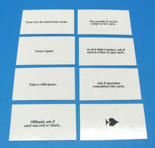 Tom Craven's Instruction Cards-2