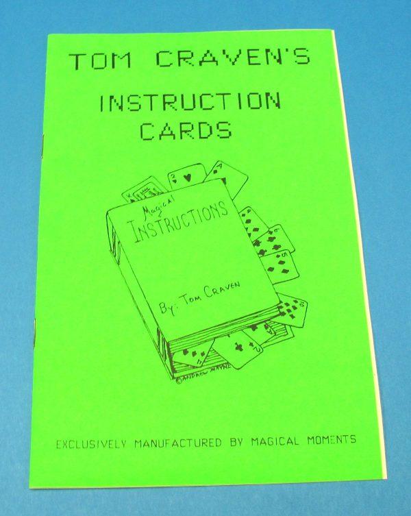 Tom Craven's Instruction Cards