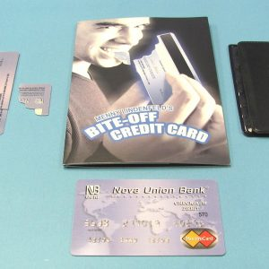 Bite-Off Credit Card (Menny Lindenfeld)