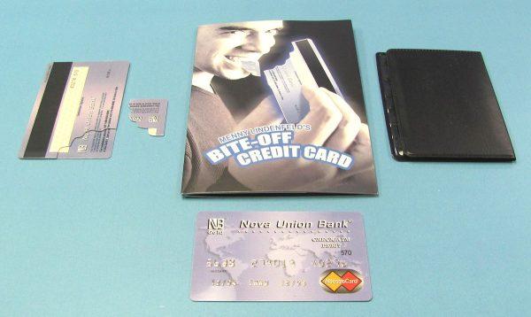 Bite-Off Credit Card (Menny Lindenfeld)