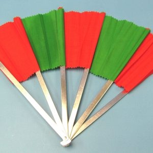 Breakaway Fan (Red and Green)