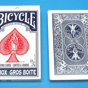 Jumbo Bicycle Deck Blue Backs
