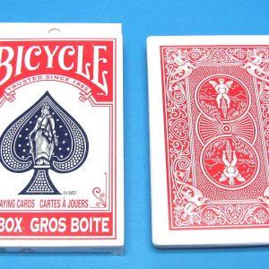 Jumbo Bicycle Deck Red Backs