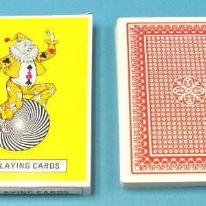 Jumbo Playing Cards #5007 (Unsealed)